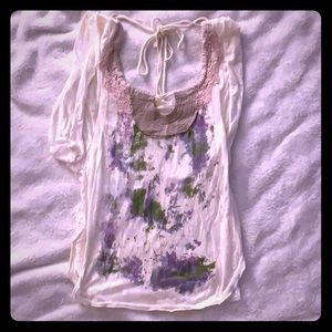 Free people top, xs